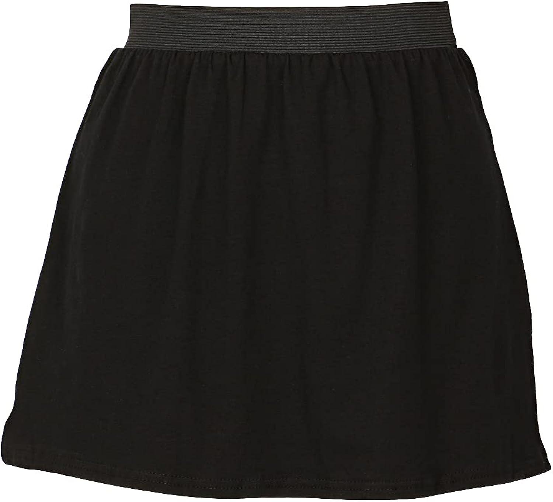 Novelty Girls Womens Hoodie 's Bottoming Skirt Adjustable Layering Fake Tops Lower Sweep Skirt Splitting Hem Skirt Undershirt