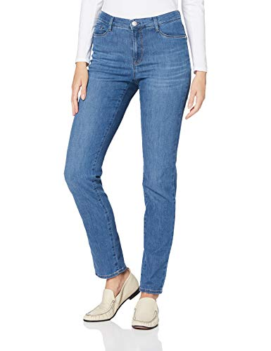 BRAX Damen Style Mary Jeans, USED REGULAR BLUE, 46L