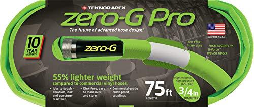 zero-G 4300-75, zeroG, Pro Garden Hose, 3/4' x 75', Green