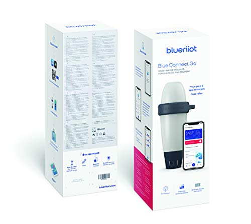Blue Connect Go Intelligenter Wasseranalysator für Pools und Spas von Chlor und Brom. Blue Connect GO bunt