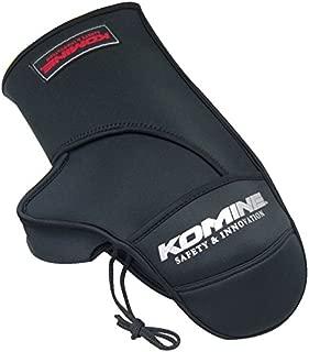 コミネ KOMINE バイク ハンドルカバー ネオプレンウォームハンドルカバー 防寒 保温 防風 ブラック フリー 09-085 AK-085
