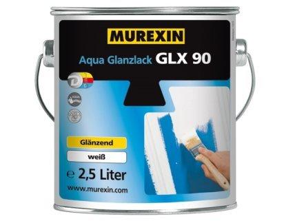 MUREXIN GLX 90 Smalto all'Acqua, Bianco Lucido, 0.25 kg