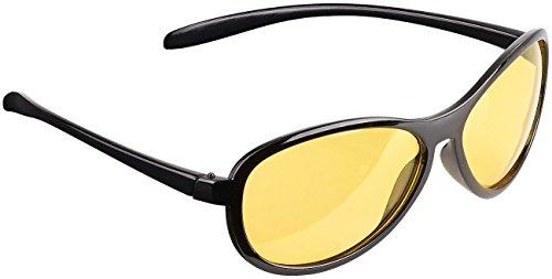 PEARL Autobrille: Kontrastverstärkende Nachtsichtbrille, polarisiert (Antiblendbrille)