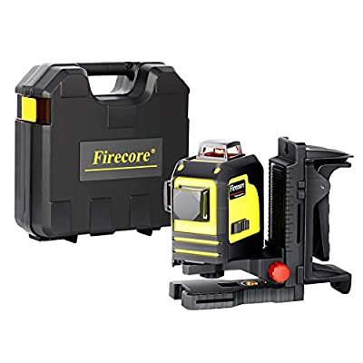 Firecore F93TR Professional 3-Plane 360 Degree Red Beam Laser
