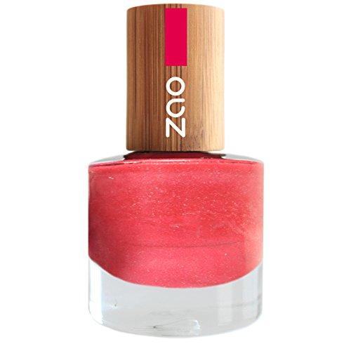 ZAO Nagellack 657 fuchsia pink rosa mit Bambus-Deckel (7-free, vegan) 101657