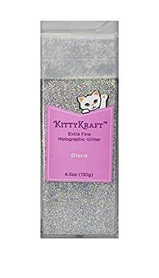 KittyKraft Holografischer Glitzer extrafein