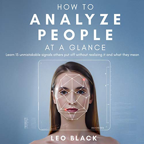 How to Analyze People at a Glance audiobook cover art