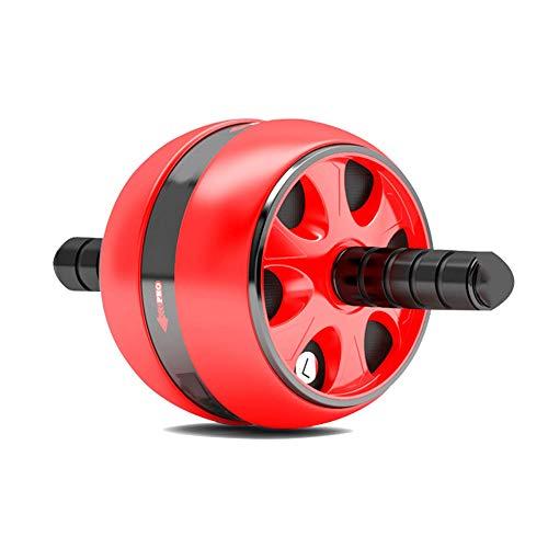 Abdominal wheel Bauchrad Bauchmuskelreduktion Bauch Bauch Dünne Taille Roller Anfänger Weste Linie Sport Fitnessgeräte Haushalt Einrad Fitnessrad (Schwarz/Blau/Rot)