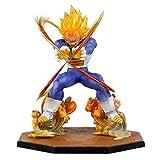 Anime Dragon Ball Z Super Saiyan Super 1 Shock Wave Vegeta Figura PVC Figuras De Acción Juguetes Muñecas 15Cm