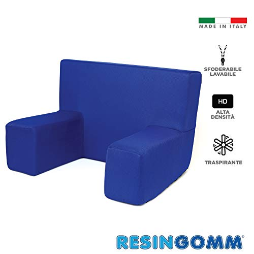RESINGOMM Poltrona Comodone Rigido Alta densità,Tessuto Fresco Extra Traspirante
