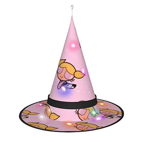 The Powerpuff Girls Witch Hat Lights Halloween Decorations For Home Garden Outdoor Yard Tree Party