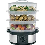 Best Food Steamers - Morphy Richards 48755 3 Tier Food Steamer Three Review