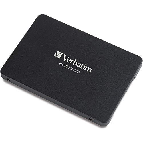 """Verbatim Vi550 S3 SSD - 128 GB 2,5\"""", Interne Solid State Drive mit 3D NAND-Technologie, schwarz"""