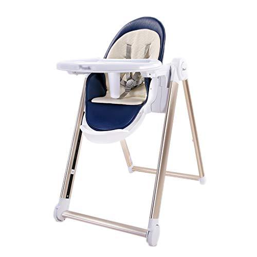 Kinder, Die Stuhl Speisen, Eierschalen-Aussehen-Einstellung Multifunktions-beweglicher Faltender Hoher Schemel, Spiel Essen Sitzen, für Haus, für 0-4 Jahre Alte Kinder (Farbe : B)