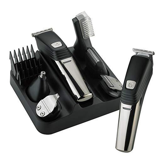 4D Heren baardtrimmer tondeuse mannen baardtrimmer precisietrimmer elektrisch Pro tondeuse designtrimmer lichaamshaartrimmer scheren haartrimmer neustrimmer (6 in 1)