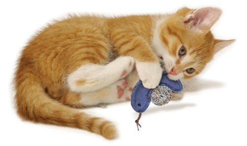KONG Denim Rings Catnip Toy