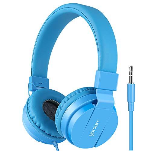 Gorsun® Auriculares para Niños,Plegable Cómodos