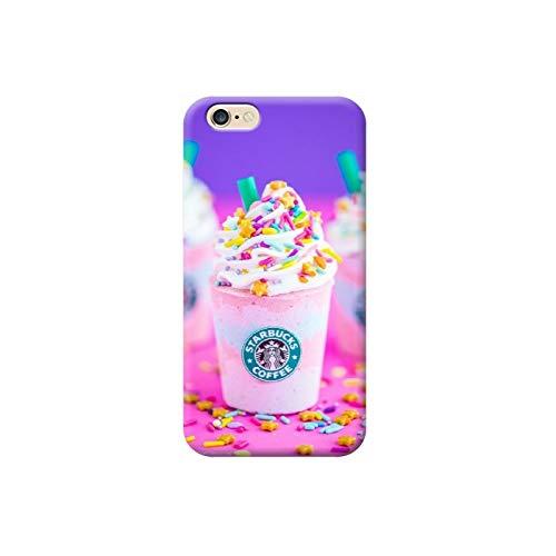 TheBigStock Cover Custodia per Tutti Modelli Apple iPhone x 8 7 6 6s 5 5s Plus 4 4s 5c TPU - AE25 Cup Starbucks Coffe, iPhone 6