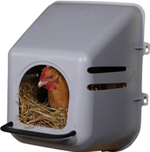 Miller Manufacturing 163620 Single Chicken Nesting Box for...