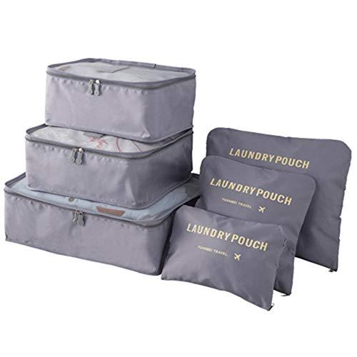 Bolsas de Almacenamiento de ropa Conjunto de 6pcs impermeables ropa bolsas de...