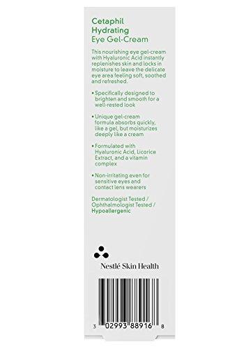 41SkMVUPN5L - Cetaphil Hydrating Eye Gel Cream, 0.5 oz