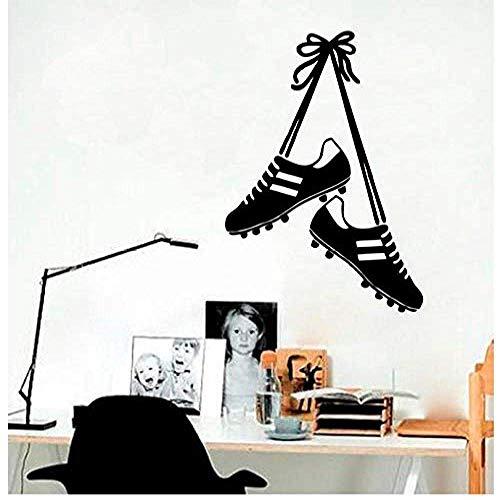 Muursticker sportschoenen kerststicker PVC vinyl woonkamer slaapkamer huis raam badkamer kantoor slaapkamer winkel decoratie 59x82cm