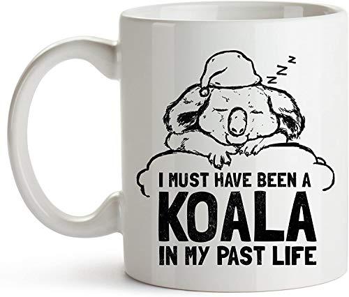 Debo haber sido koala mi vida pasada - Taza café