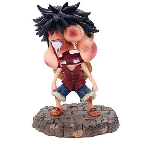 Personajes Animados La Segunda Cara Hinchada Luffy Adornos Hechos A Mano En Caja De 15 Cm. One Piece Anime Toy Model Figura De Acción Mejor Regalo Para Niños Pvc Figura De Acción Colección Modelo Ju