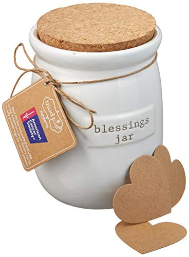 Mud Pie Inspirational Count Your Blessings Jar
