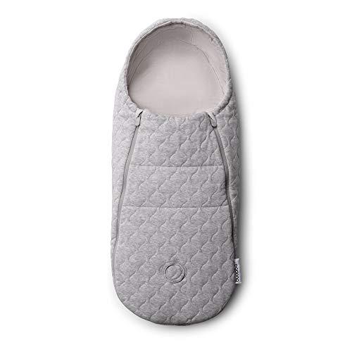 Saco de recién nacido Bugaboo, Melange gris claro, Adecuado desde el nacimiento hasta los 6 meses