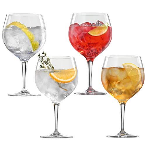 Spiegelau & Nachtmann, 4-teiliges Gin Tonic-Gläser-Set, Kristallglas, 360 ml, Special Glasses, 4390179