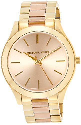 Michael Kors Reloj analogico para Mujer de Cuarzo con Correa en Acero Inoxidable MK3493