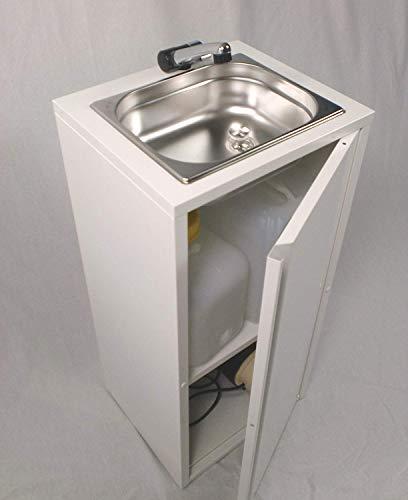 Mobiles Handwaschbecken Waschbecken Verkaufsstand Warmwasser Kaltwasser Lmhv Neu (ad-ideen)
