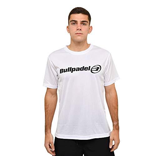 Bullpadel Camiseta 2021 Blanco