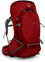 Osprey Atmos Ag 65 Backpack, Rigby Red, Large