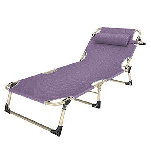 SXY-ZDTY Deck stoel, Sun Lounger Outdoor Opvouwbare Ligstoel, Stoer en scheurvast Vrijetijdsgebied Zero Zwaartekrachtstoel, Ligstoelen Camping Draagbaar Strand Geschikt voor Thuis, Kantoor, Buiten