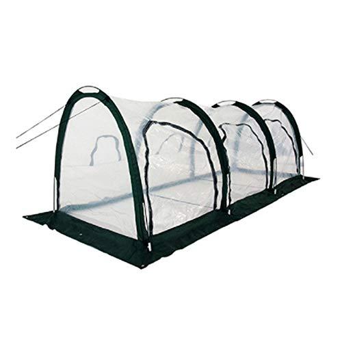 GUOZ Mini Invernadero Portatil Cubierta de Invernadero de PVC para Interiores y Exteriores Portátil Autoinstalable Pop-up Compacto 500 * 100 * 100cm, Portátil,2