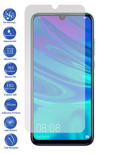 Todotumovil Protector de Pantalla Huawei P Smart Plus 2019 de Cristal Templado Vidrio 9H para movil