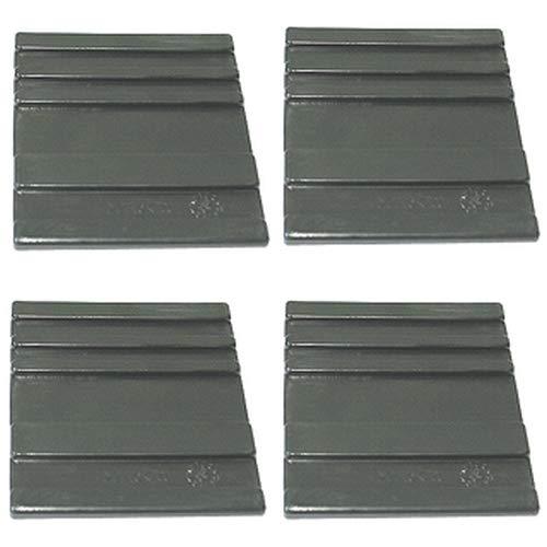 ATIKA Ersatzteil | Gleitplatten unten (4 Stück) für Holzspalter ASP 6-1050