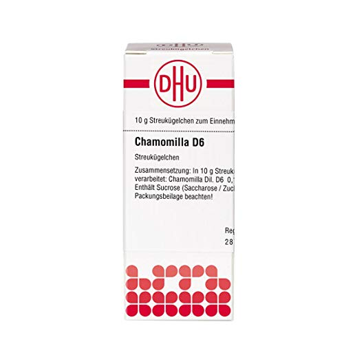 DHU Chamomilla D6 Streukügelchen, 10 g Globuli