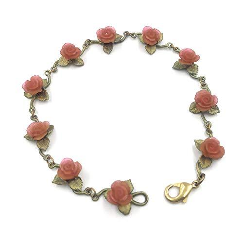 Red Rose Bracelet #7294