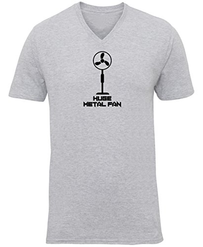 Hippowarehouse I'm a Huge Metal Fan Unisex V-Neck Short Sleeve t-Shirt...