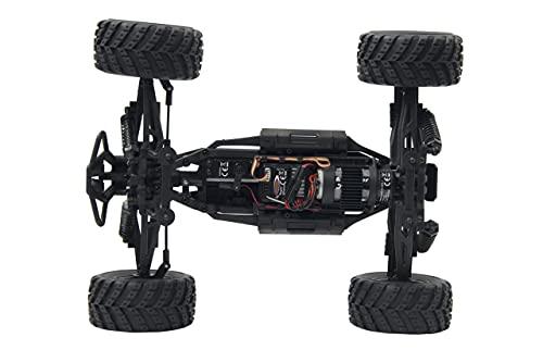 JAMARA 053355 - Whelon Monstertruck 0.05 4WD Li-Ion 2.4GHz - Allrad, Elektroantrieb, Akku, 35KMh,