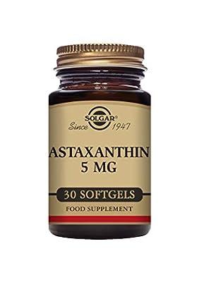 Solgar 5 mg Natural Astaxanthin Softgels - Pack of 30