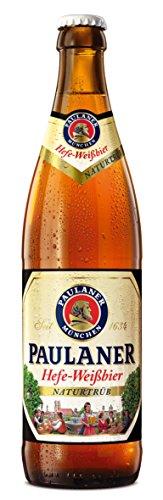 Paulaner Hefe Weissbier Naturtrüb Cerveza - 1 Botella