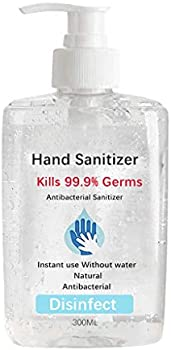 Zlolia 300ml Alcohol-Free Portable Refreshing Hand Soap Gel