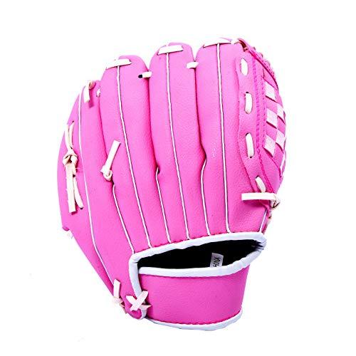 Dtcat Softballhandschuh,Vollbaseballhandschuh,erhältlich in 4 Größen @ Pink_10.5,Baseballhandschuh Adult