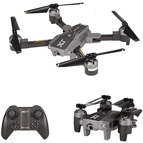GZTYLQQ Drone Pieghevole con Fotocamera grandangolare 720P, WiFi FPV Drone Altitude Hold Posizionamento del Flusso Ottico Quadcopter RC Toy Gift