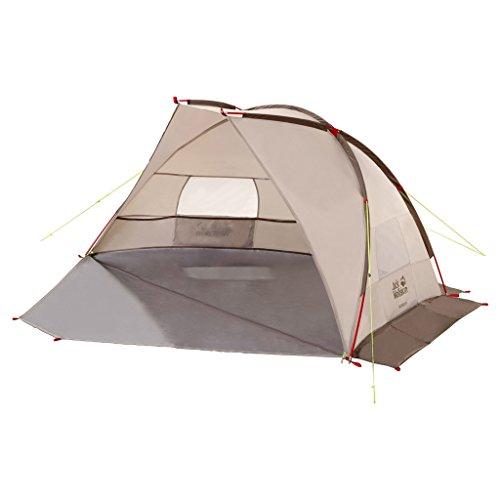 Jack Wolfskin Strandmuschel Beach Shelter III 130 x 245 / 110 x 100 cm,  2,4 kg