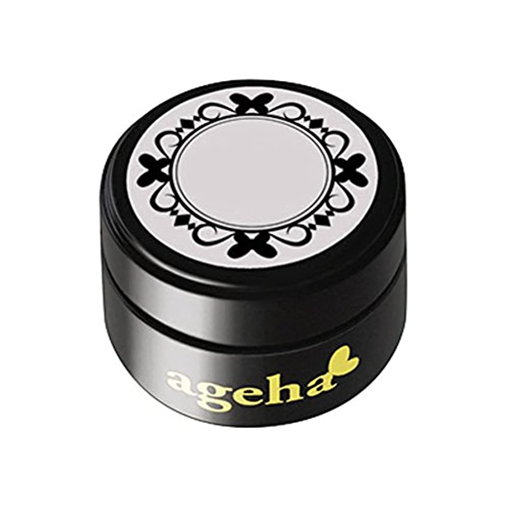 円形のワークショップ重量ageha gel カラージェル コスメカラー 400 ホワイトスノー 2.7g UV/LED対応